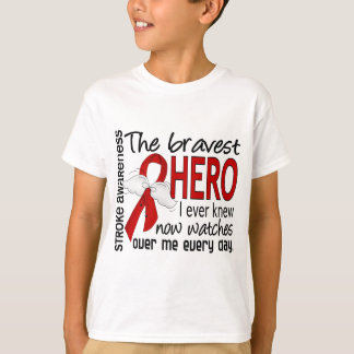 Bravest Hero I Ever Knew Stroke T-Shirt