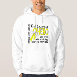 Bravest Hero I Ever Knew Testicular Cancer Sweatshirts