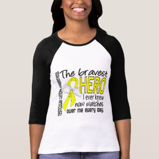 Bravest Hero I Ever Knew Testicular Cancer T Shirt