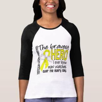 Bravest Hero I Ever Knew Testicular Cancer T-Shirt