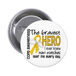 Bravest Hero I Knew COPD Pins