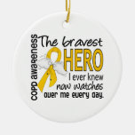 Bravest Hero I Knew COPD Ornaments