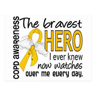 Bravest Hero I Knew COPD Postcard