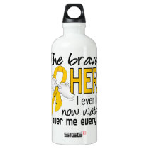 Bravest Hero I Knew COPD Water Bottle