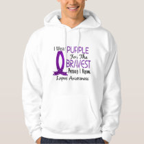 Bravest Person I Know Lupus Hoodie