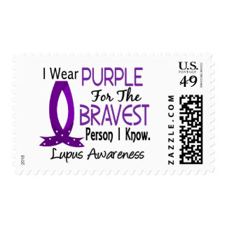 Bravest Person I Know Lupus Stamps