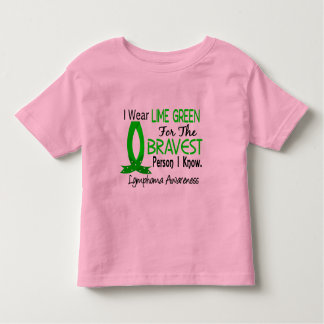Bravest Person I Know Lymphoma Toddler T-shirt