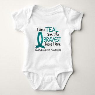 Bravest Person I Know Ovarian Cancer Baby Bodysuit