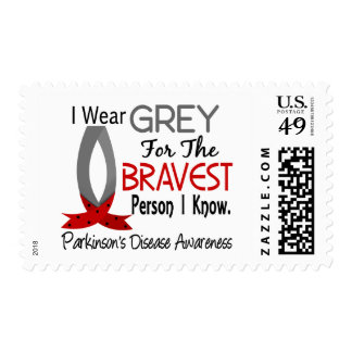 Bravest Person I Know Parkinson's Disease Postage Stamp