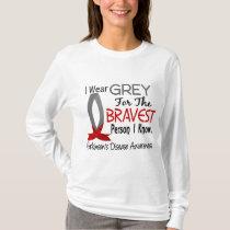 Bravest Person I Know Parkinson's Disease T-Shirt