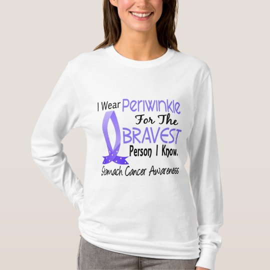 Bravest Person I Know Stomach Cancer T-Shirt