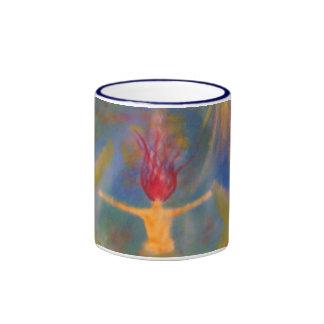 Braving arte de la sirena de las profundidades taza