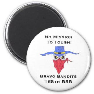 Bravo Bandits Button 2 Inch Round Magnet