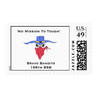 Bravo Bandits Stamp