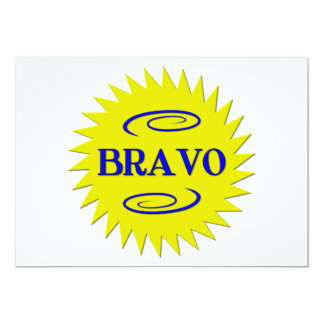 Bravo! Card
