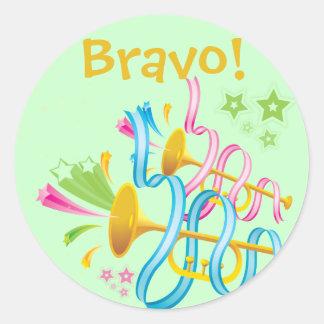 Bravo! Celebration Sticker