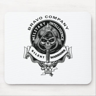 Bravo Co Silent Warriors Mouse Pad