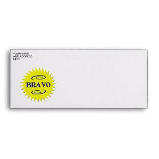 Bravo! Envelope