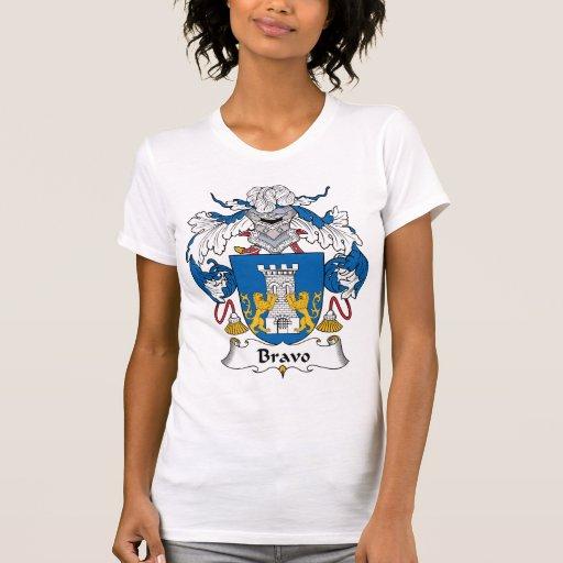 Bravo Family Crest T-Shirt