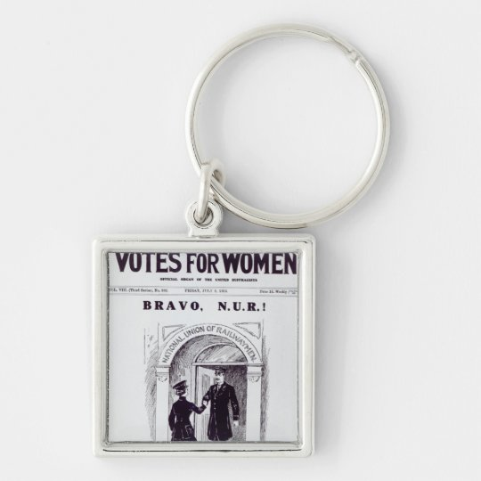 Bravo, N.U.R!, front cover of 'Votes for Keychain