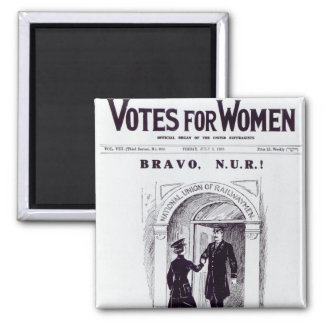 Bravo, N.U.R!, front cover of 'Votes for Magnet