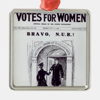 Bravo, N.U.R!, front cover of 'Votes for Christmas Ornaments