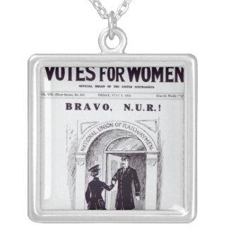 ¡Bravo, N.U.R! , portada de los 'votos para Colgante Cuadrado