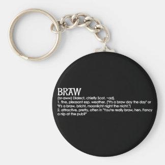 Braw Keychain