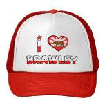 Brawley, CA Trucker Hat