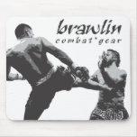 Brawlin Combat Gear Mouse Pad