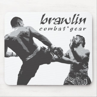 Brawlin Combat Gear Mouse Pad