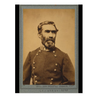 Braxton Bragg Portrait (between 1861 & 1865) Postcard