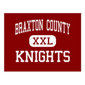 Braxton County - Knights - Middle - Sutton Postcard