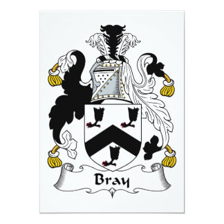 Bray Family Crest Card