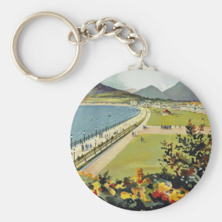 Bray ~ for better holidays basic round button keychain