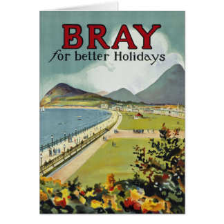 Bray ~ for better holidays card