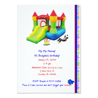 brayden final. 5x7 paper invitation card