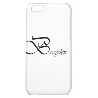 Brayden iPhone 5C Case