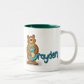 Brayden, Mug with Name