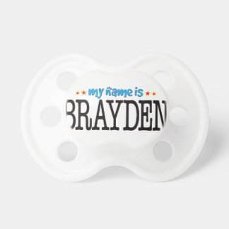 Brayden Name Pacifier