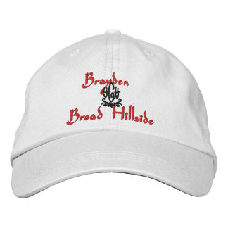 Brayden Name With English Meaning White Embroidered Baseball Hat