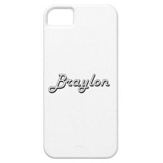 Braylon Classic Retro Name Design iPhone 5 Covers