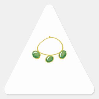 Brazalete de la pulsera calcomania de triangulo