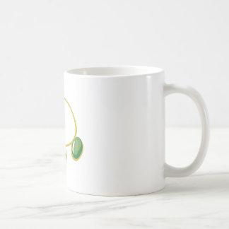 Brazalete de la pulsera taza básica blanca