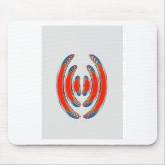 BRAZALETES ROJOS: Arte decorativo abstracto en los Tapetes De Ratones
