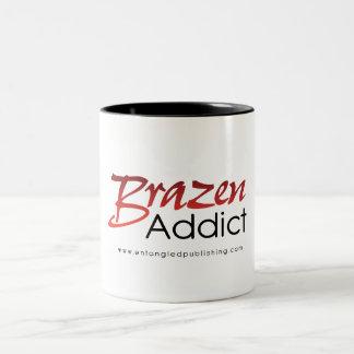 Brazen Addict mug