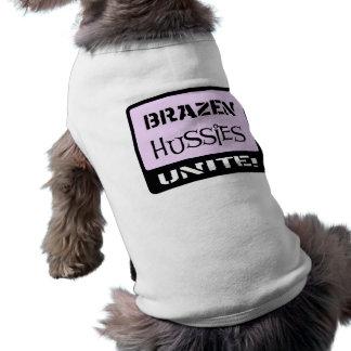 Brazen Hussies Unite Dog Clothing