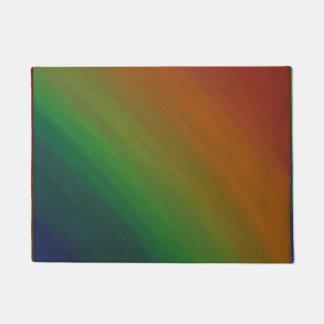 Brazen - Rainbow Flag ROYGBIV LGBT Colorful Pride Doormat