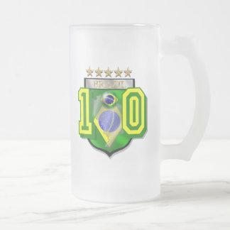 Brazil 10 Brasil number 10 soccer futebol gifts Coffee Mug