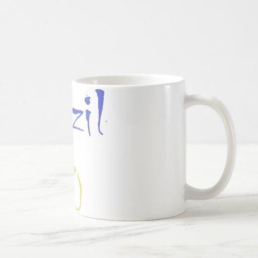 Brazil 10! Cool Brazil design! Classic White Coffee Mug